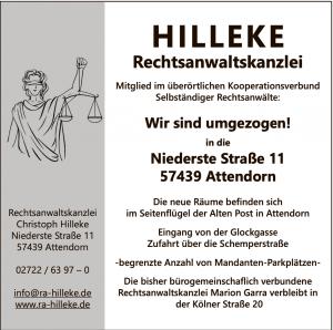 Hilleke Umzug